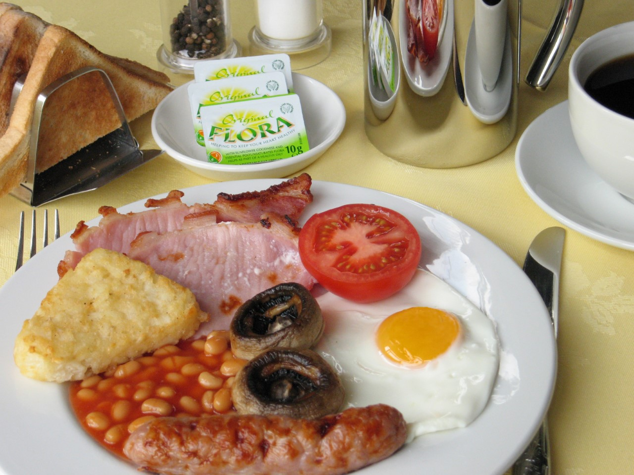 The Coach House Melbourne, Derbyshire - Breakfast